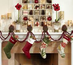 holiday decorations for the home interior interior holiday decorating ideas with glass vases for
