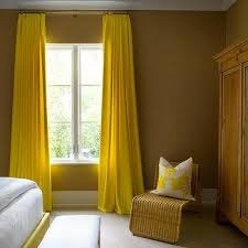 Mustard Curtain Yellow Curtains Design Ideas