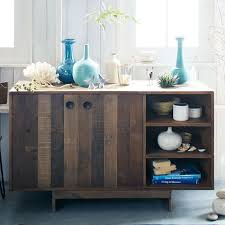 Solid Wood Buffet Table Emmerson Reclaimed Wood Buffet West Elm