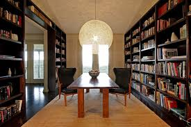Bookcase Lamps 25 Dining Rooms And Library Combinations Ideas Inspirations