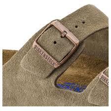 Birkenstock Beds by Arizona Soft Footbed Taupe Suede Shop Online At Birkenstock