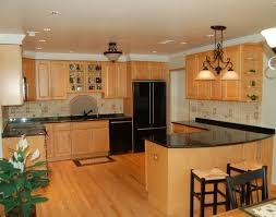oak cabinets kitchen ideas light oak cabinets skillful design kitchen paint colors with
