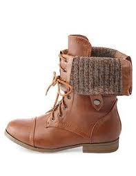 sweater lined foldover combat boots soda sweater lined foldover combat boots 18 liked on