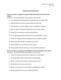 commas in direct address lesson plans u0026 worksheets