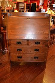 Secretary Style Desks Mission Oak Secretary Desk Arts And Crafts Mission Furniture