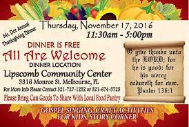fundraiser by san king ms dot s 2016 thanksgiving dinner