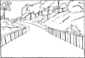 coloring pages for landscapes landscape coloring page free coloring pages on art coloring pages
