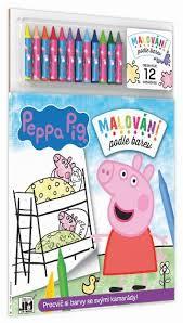 jiri models paint colour peppa pig