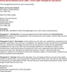 social work cover letter fresh cover letter for social work