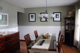 glidden khaki green a little dark for the whole wall but looks