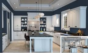 blue kitchen cabinets grey walls 25 of the best blue paint color options for kitchens home