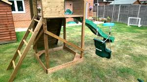 dunster house climbing frame review youtube