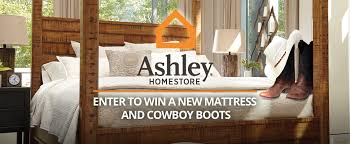 ashley furniture whose bed have your boots been under