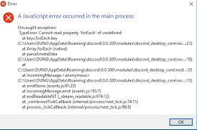 discord javascript error betterdiscordapp bountysource