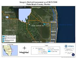 Palm Beach State Map Disaster Relief Operation Map Archives