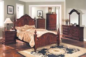 Solid Mahogany Bedroom Furniture by Mahogany Bedroom With Oversized Headboard