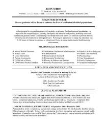 rn resume examples resume example