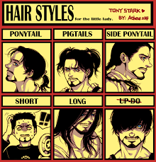Sexy Girls Meme - iron man tony s hair meme by athew on deviantart