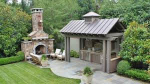Outdoor Kitchen Roof Ideas by 40 Outdoor Kitchen Design Ideas 2017 Small And Big Outdoor