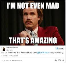 emma watson and prince harry might be going out and the internet