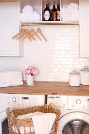 a very vintage laundry room renovation