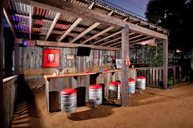 Rustic Outdoor Kitchen Ideas - outdoor entertainment rustic patio san francisco by jake