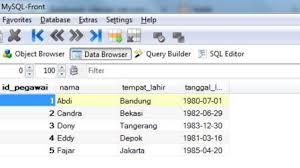 cara membuat database dengan mysql front import excel ke mysql menggunakan php harviacode