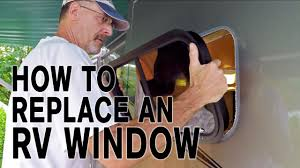 replace glass in window how to replace an rv window and how it u0027s made youtube