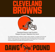 brown s day here s the new cleveland browns logo let s look at it
