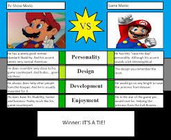 Meme Vs Meme - character vs meme tv show mario vs game mario by hillygon on