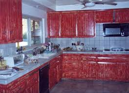 red cabinets in kitchen red kitchen laminate floors counter contemporary home