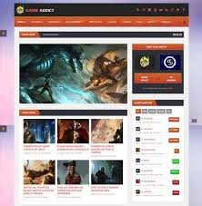 php gaming website themes