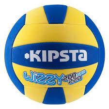 Keranjang Bola Volly bola voli wizzy untuk anak usia 6 9 tahun 200 220g kuning biru