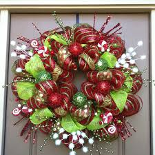 christmas mesh wreaths deco mesh christmas wreaths christmas wreath ideas