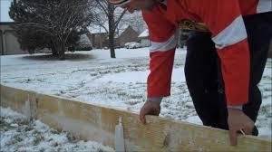 Backyard Ice Rink Brackets Iron Sleek Backyard Ice Rink Board Clips Youtube