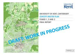 Canterbury England Map by Canterbury Campus Concept Master Plan 2016 By University Of Kent