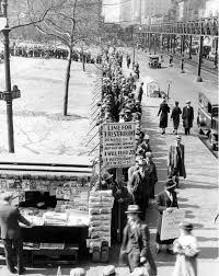 depression era depression era breadline in new york city 1932 history by zim