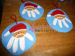 salt dough handprint santa ornaments gigglebox tells it like it is