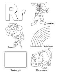 z words coloring pages