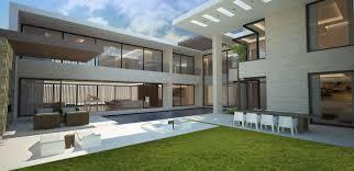 archictect architecture works modern 5 bedroom villa dubai u a e