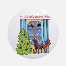 labrador christmas christmas ornament cafepress