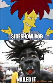 sideshow bob nailed it meme