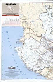 Mexico State Map by Jalisco State Roads Mapfree Maps Of Central America