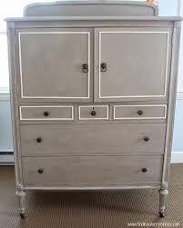 Painted Armoire Furniture A Chalk Paint Review U0026 The Clifton Armoire Finding Silver Pennies