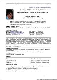 Well Written Resume Examples by Resume Examples For Professionals Resume Examples For Experienced