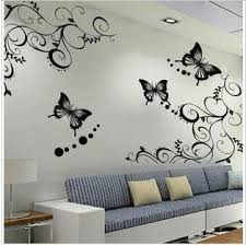 flowers home decor wall stickers for kids rooms bathroom glass