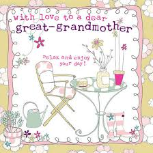 dear great grandmother card karenza paperie