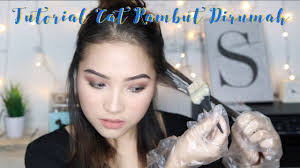 gambar tutorial ombre rambut nyu creme hair color for my hair resolution youtube