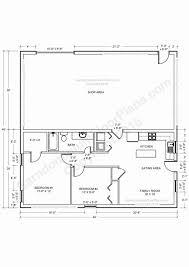 barndominium floor plans 40x40 house plans best of barndominium floor for planning your x