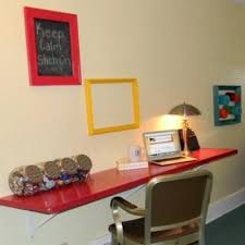Diy Home Desk Closet Door Desk Diy Home Office Tip Junkie